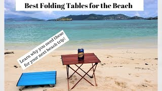 The Best Tables f๐r the Beach or Camping - Trekology