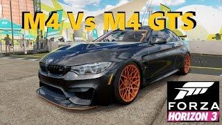 BMW M4 Vs BMW M4 GTS - Forza Horizon 3