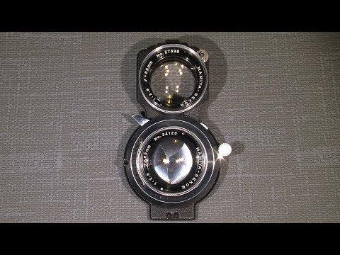 Sticky slow gear in Mamiya-Sekor 1:2.8   f=80mm  (Seikosha-S  shutter)