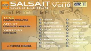 SALSA.IT VOL.10 GOLD EDITION: CUANDO EL AMOR ACABA,CUTO OLAYA & ORQUESTA