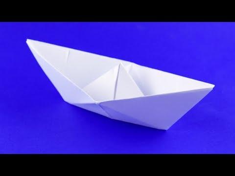 Как сделать лодочку из бумаги своими руками поэтапно. Пошаговая сборка, оригами, мастер класс.