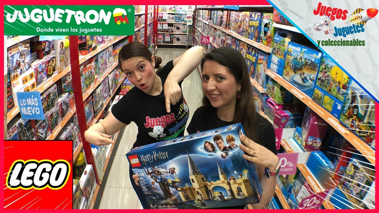 Lego Visita Jugueteria Juguetron Reto Harry Potter Youtube