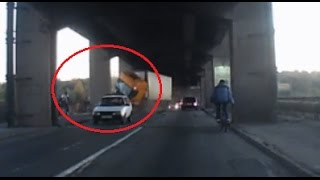 ДТП.У фуры отказали тормоза.