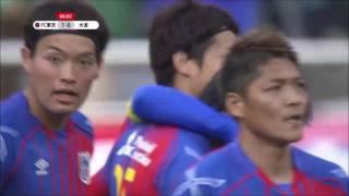 エリア前で左からパスを受けた森重 真人(FC東京)が、正確にコントロー...