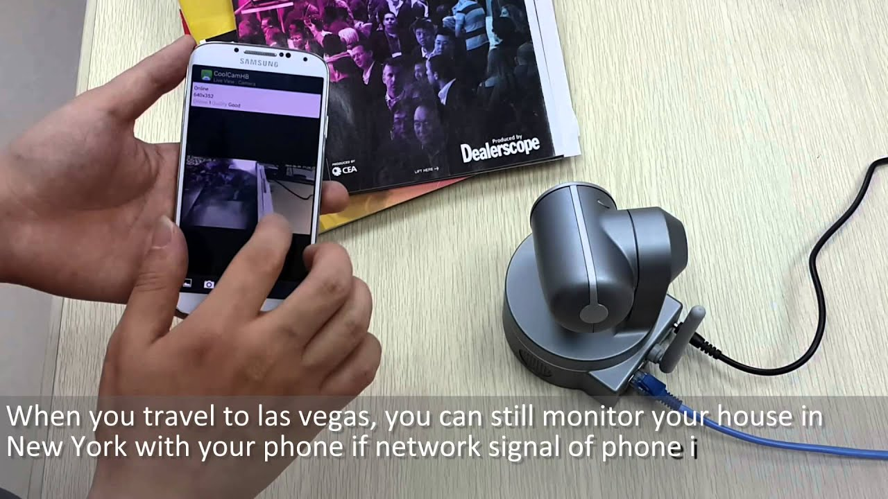 Install Instruction For Coolcam Hd P2p Wireless Wifi Ip