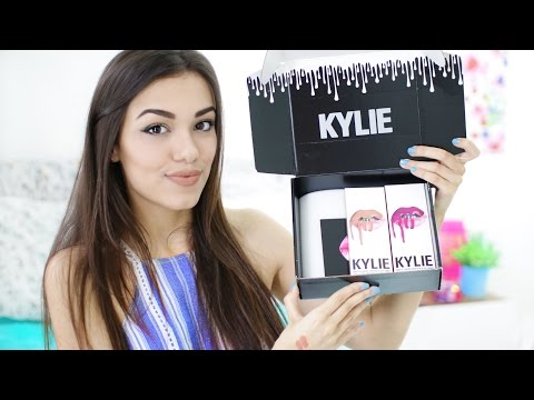 "Kylie Jenner LIP KIT ""EXPOSED"" and ""POSIE K"" Review, Swatches, Comparisons & Dupes!!"