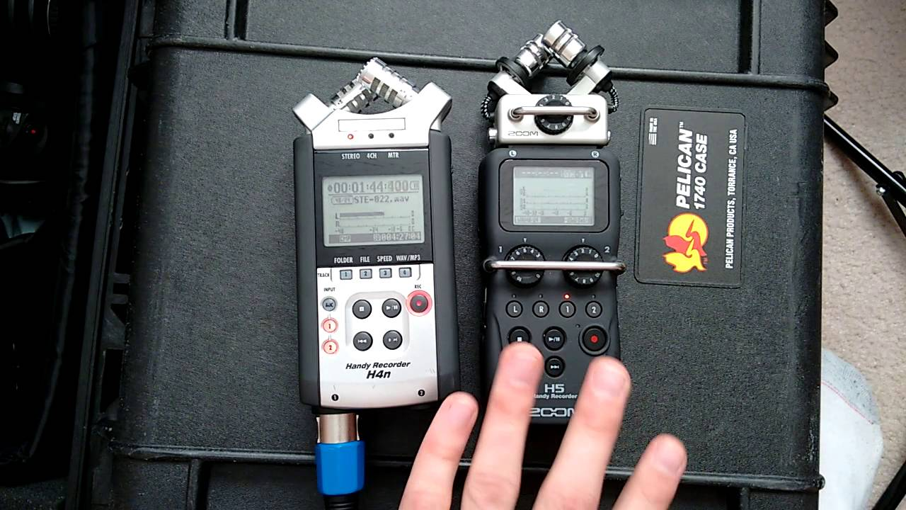 Line Level Signals: Zoom H4n vs H5