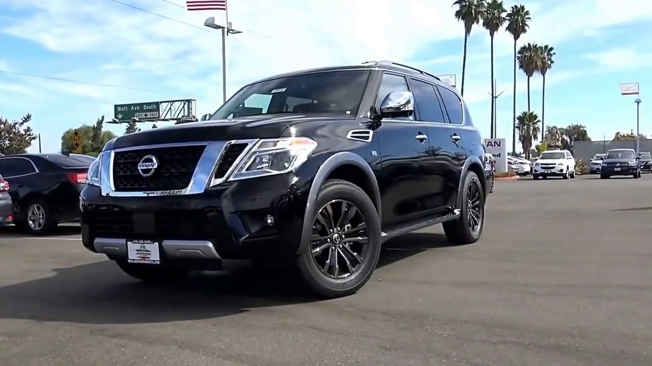 2018 Nissan Armada Review And View Interior And Exterior Youtube