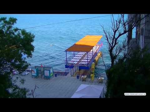 Крым  Мисхор, пляж санатория Белоруссия  Управления делами Президента.
