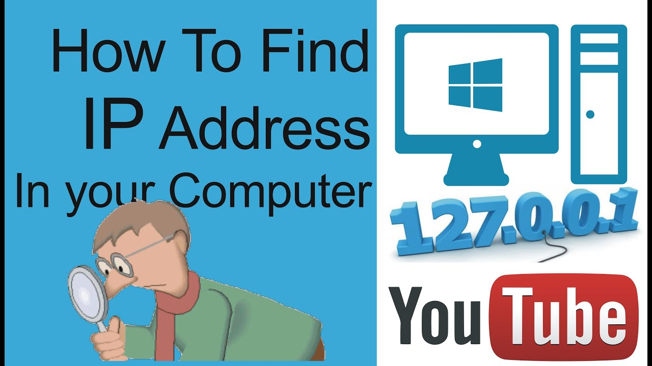 How do you find your system IP address?