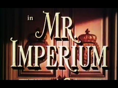 Drama, Musical, Romance Movie  - Mr Imperium (1951)