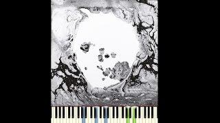 radiohead identikit piano cover