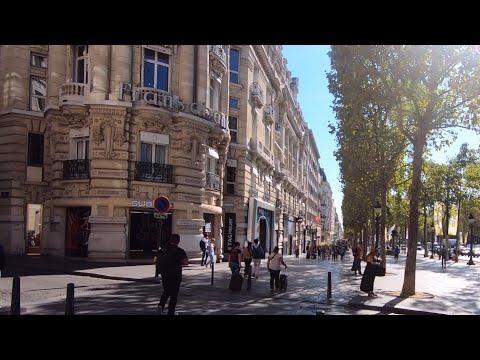 ���� Paris walk: