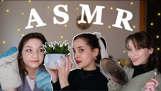 FRENCH ASMR WITH FRIENDS (on a tout donné❤️) feat @MAYLINE & LOU