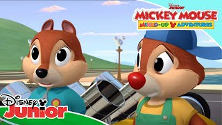 😳 Mickey's Mixed-Up Motor Lab! | Mickey Mouse Mixed-Up Adventures | Disney Junior UK