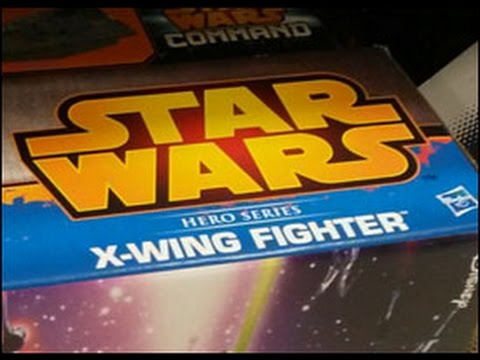 Hasbro Hero Series X-wing Fighter Conversion Part 1