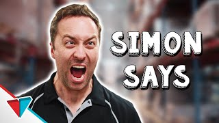 Team building with your boss - Simon Says