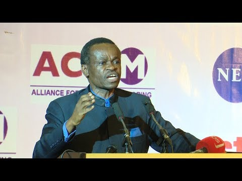 P.L.O. Lumumba: In Africa We Elect Village Fools into Office