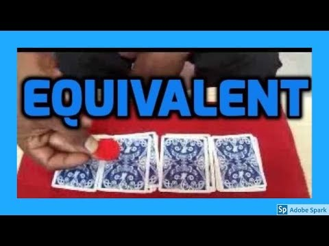 MAGIC TRICKS VIDEOS IN TAMIL #318 I EQUIVALENT @Magic Vijay
