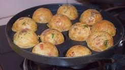 गोल गोल फुले फुले रवा ( सूजी ) के आप्पे   Instant Suji / Rava Appe Recipe  Recipeana