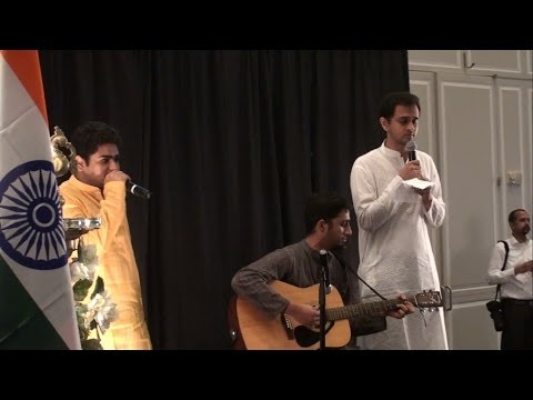 Vande Mataram - Performance by 'Ekaatma' at Big Ideas for Better India event (UMD) Travel Video