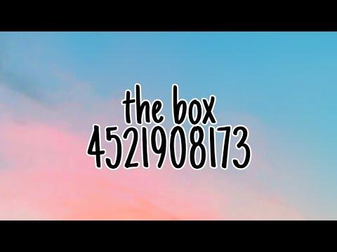 Roblox Music Code The Box Roddy Rich Youtube