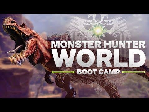 Monster Hunter World Boot Camp - High Rank Gem Farming and Q&A