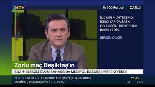 CANLI YAYIN | Murat Kosova ve Rıdvan Dilmen ile %100 Futbol (Beşiktaş-Medipol Başakşehir)
