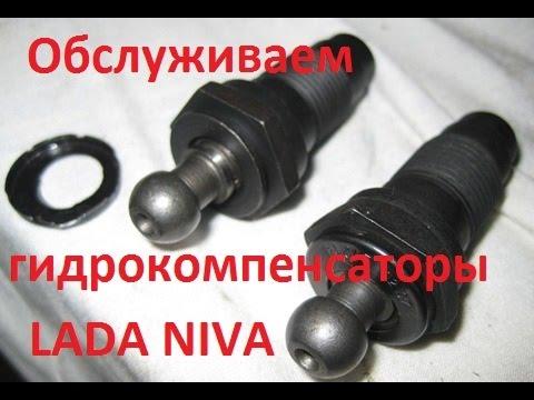 Обслуживание гидрокомпенсаторов LADA NIVA(21214) Тайга.
