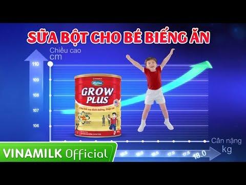 Quảng cáo sữa Vinamilk - Sữa bột Dielac Grow Plus hỗ trợ dinh dưỡng cho bé biếng ăn (35s)