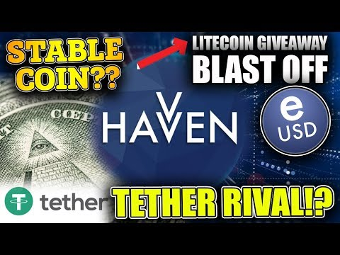 "#HAVVEN the ""Stablecoin"" of the future? - #TETHER RIVAL - [#LITECOIN GIVEAWAY}"