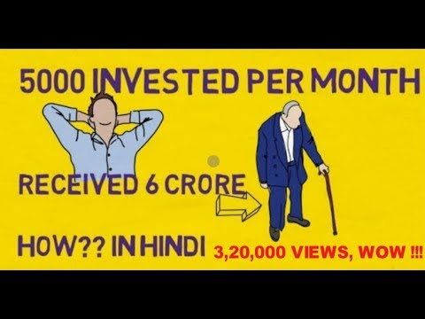 Invest Rs.5000 Per Month And Get 6 crore Rs. How to invest in Sip