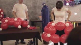 Обучение по аэродизайну. Мастер-классы по воздушным шарам.