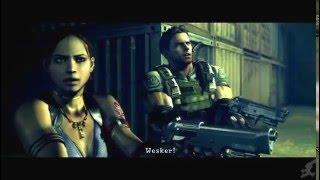 Resident Evil 5 All Wesker Cutscenes
