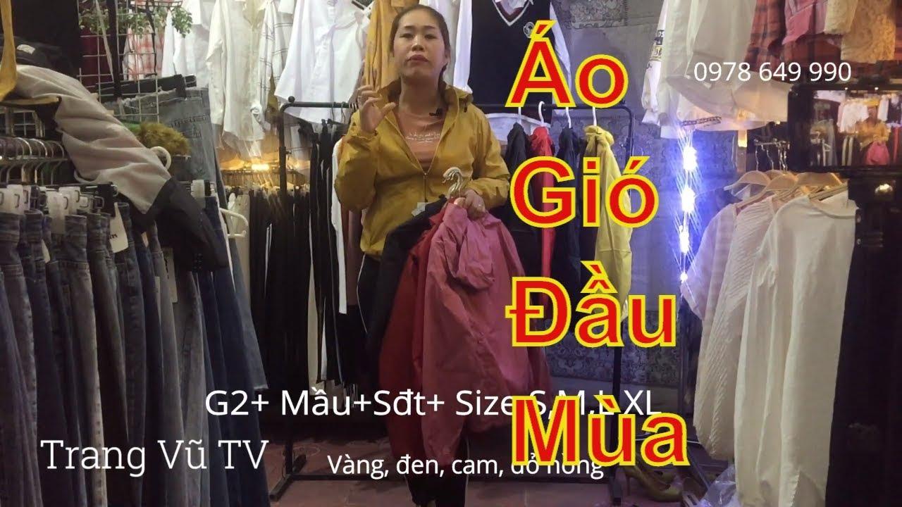 Áo gió đầu mùa rẻ áo khoác nữ đẹp thời trang nữ Trang Vũ TV #128