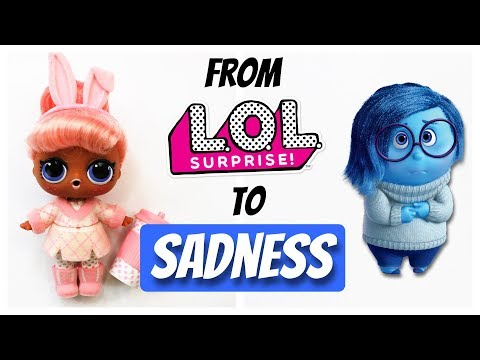 MAKING A TINY SADNESS DOLL - CUSTOM LOL SURPRIZE DOLL REPAINT by Poppen Atelier