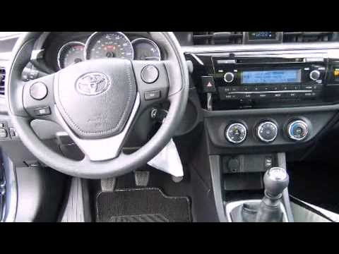 2014 toyota corolla l manual transmission youtube. Black Bedroom Furniture Sets. Home Design Ideas