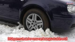 sealey essential travel kit vtr01 traction tracks ss03 folding shovel