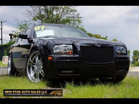 2007 chrysler 300 2 7 srt sedan youtube. Black Bedroom Furniture Sets. Home Design Ideas