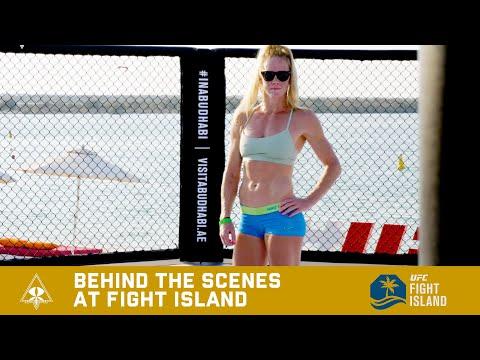 FIGHT ISLAND BEHIND THE SCENES - HOLM VS ALDANA.