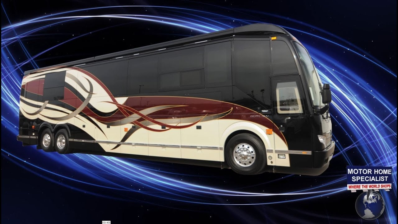 2015 Prevost H3-45 Quad Slide by Outlaw Coach OWNERS DEMO