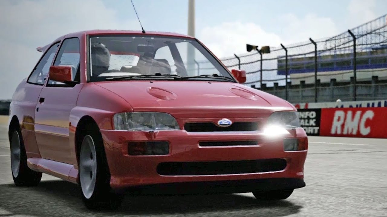 forza motorsport 4 ford escort rs cosworth 1992 test drive rh youtube com ford escort rs cosworth a venda em portugal