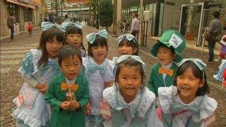 Super cute children's Halloween Parade in Japan