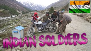 Indian Soldiers help us recover Motorbike