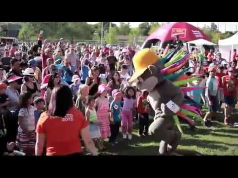Whitchurch-Stouffville 2015 Pan Am Torch Relay, highlights of the day