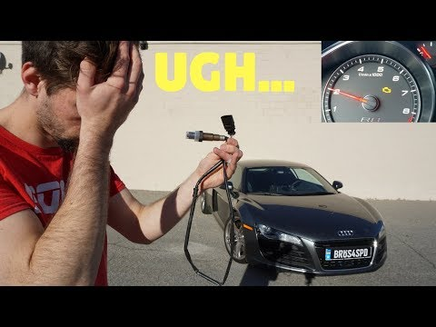 My New Audi R8 Has A Check Engine Light! DIY Fix!