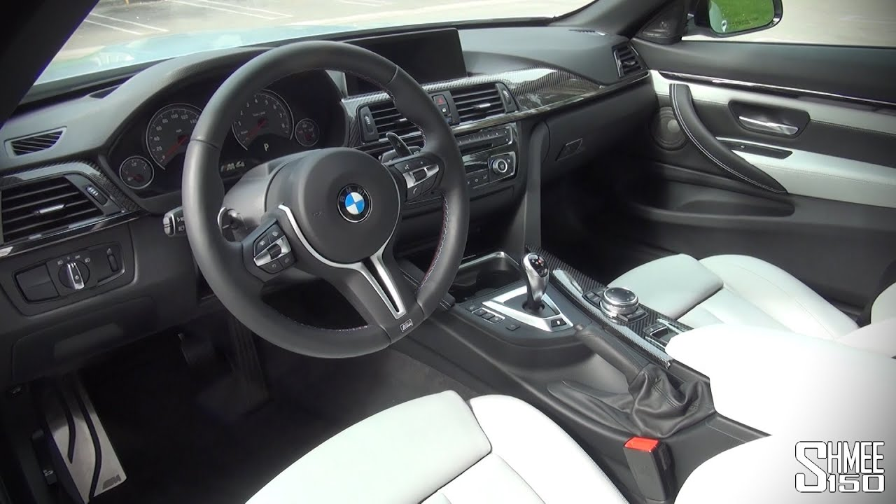 Delightful BMW M4 Convertible   Interior And Displays   YouTube