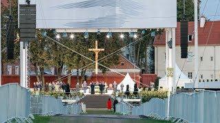 Tiesioginė transliacija: Kaunas pasitinka Popiežių