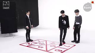 【繁中字幕】BTS 防彈少年團 #BANGTANBOMB - Let's play hopscotch