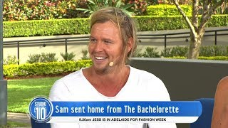 Video Sam From The Bachelorette Australia 2017 | Studio 10 download MP3, 3GP, MP4, WEBM, AVI, FLV November 2017